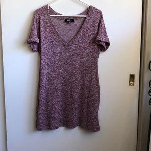 Lulus slouchy T-Shirt Dress